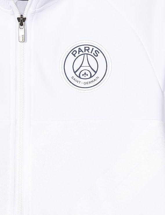 Amazon Com Nike 2019 2020 Psg I96 Jacket White Kids Clothing
