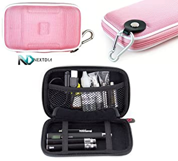 Portable Travel Vape Carrying Case suitable for SToK VAP Pen with Twister  Cartridge (SLIM PINK