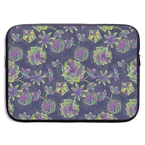 a9eb5d950b69 Amazon.com: EYFlife Twilight Succulent Portable Laptop Sleeve 13 ...