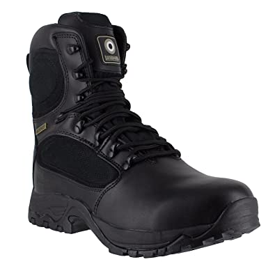047c428909e Lambretta DB-617 Mens S3 Black Military Combat Safety WaterProof Lace Up  Boots