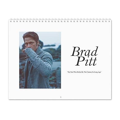 Amazon Com Brad Pitt Forest Soul 2019 Wall Calendar Office