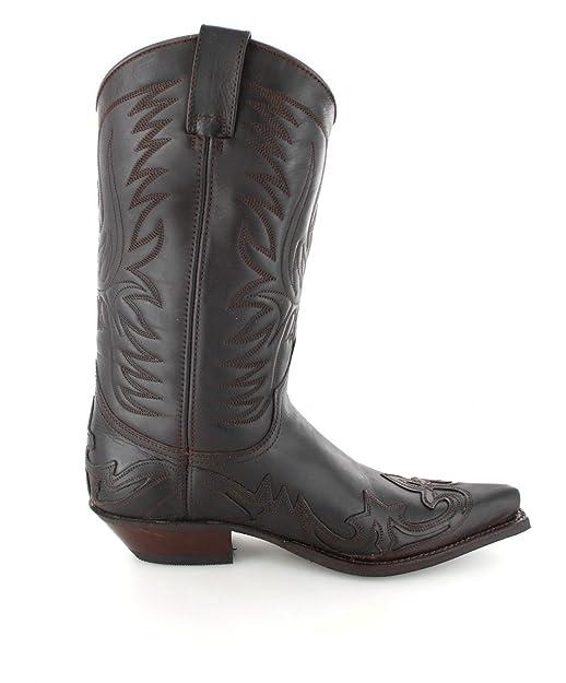 Fashion Boots BU1004 Braun-Brown Damen & Herren Westernstiefel: Amazon.de:  Schuhe & Handtaschen