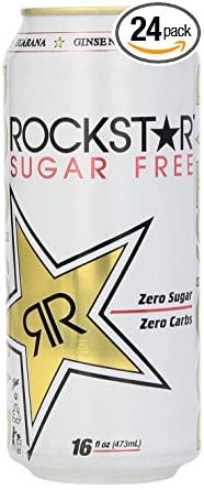 Amazon Com Rockstar Sugar Free Energy Drink 16 Fl Oz Pack Of 24 Grocery Gourmet Food