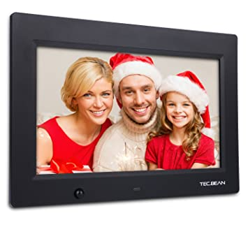 bean 101 inch 16g hd digital photo frame with built in storage