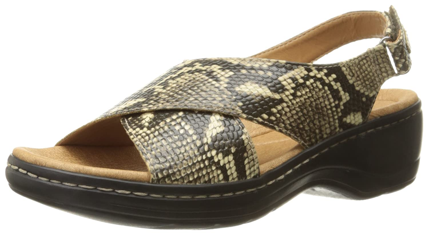 Womens Sandals Clarks Hayla Heaven Snake