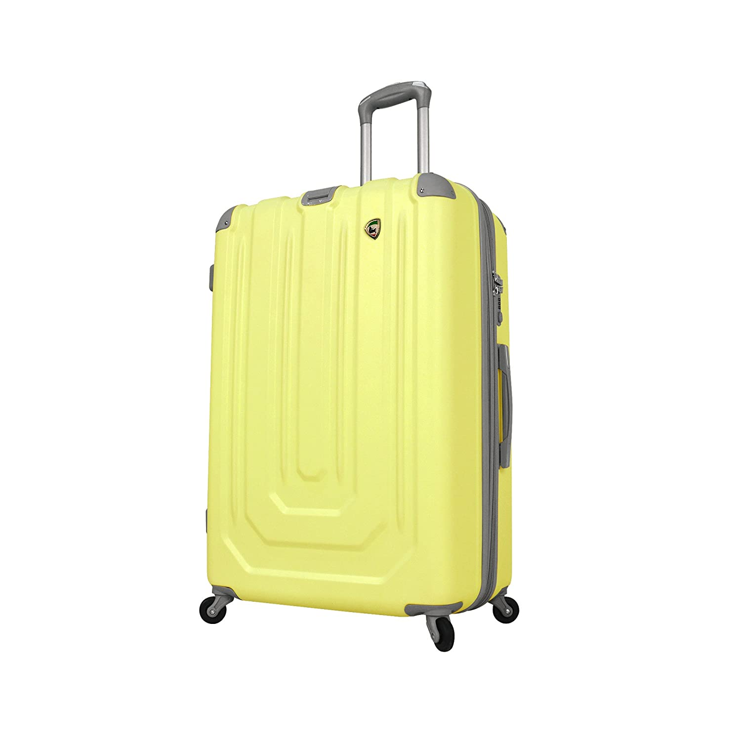 Mia Toro Luggage Pastello Composite Hardside 29 Inch Spinner, Yellow, One Size M1004-29in-YEL