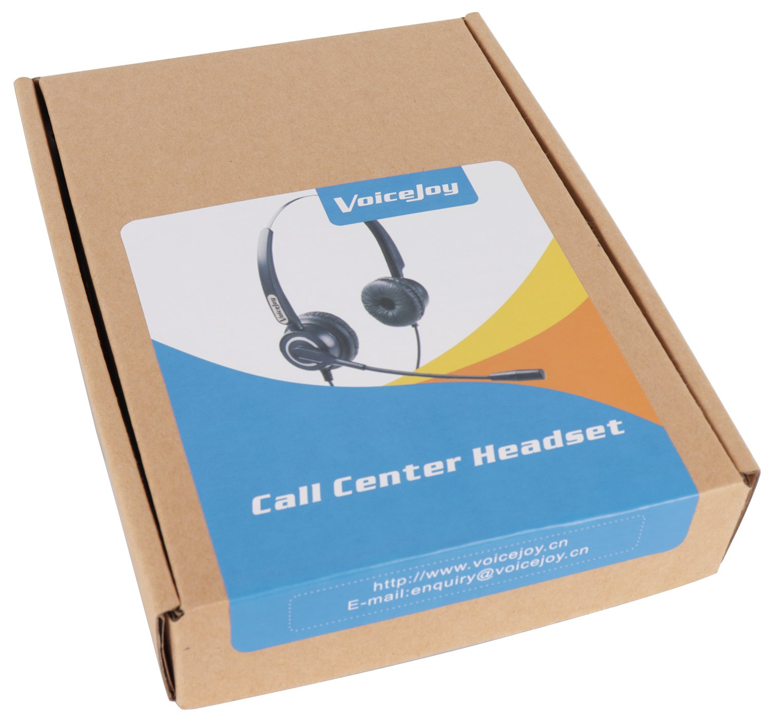 Corded RJ9 Phone Headset Binaural with Noise Canceling Microphone ONLY for  Cisco IP Phones: Such as 6941 7942 7971 8841, 8851, 8861,8945, 8961, 9951,