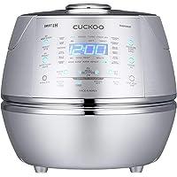 CUCKOO CRP-DHSR0609F Stoom Druk Rijst Cooker 1080ml 6 kopjes | IH Inductie Verwarmings Technologie | Programmeerbaar…