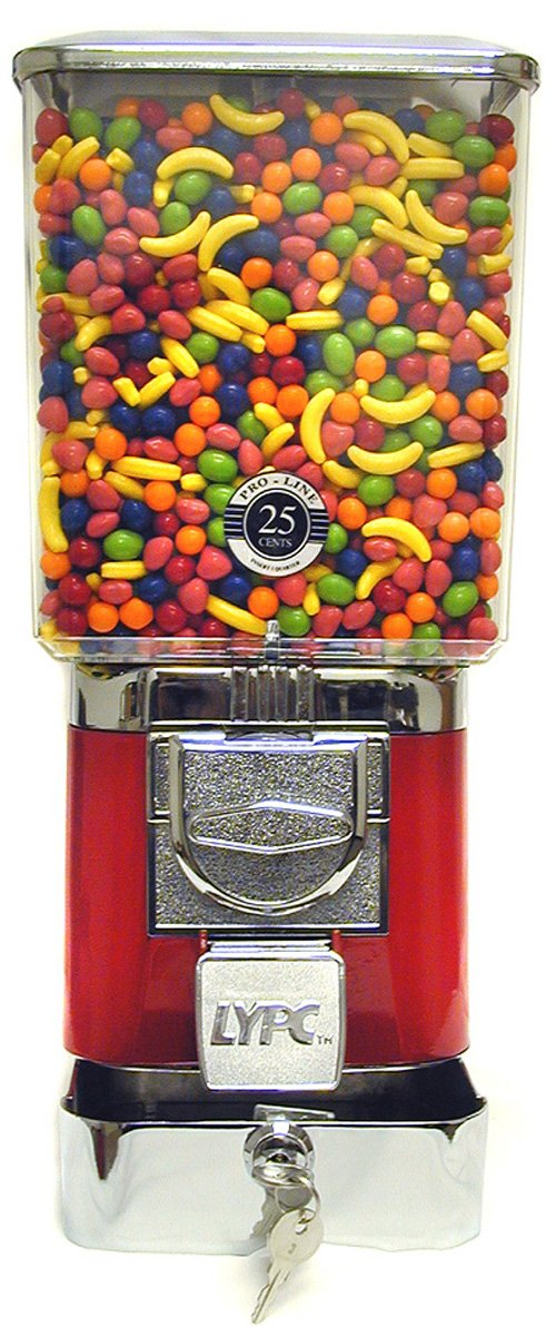 Tough Pro Candy Machine with''Secure Cash Box'' All Metal Construction