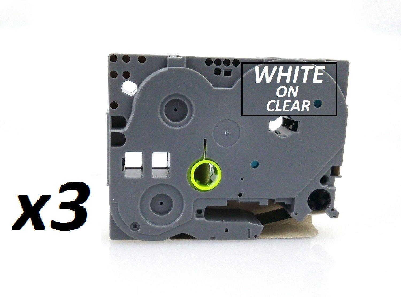 3 x cinta Compatible laminada cinta x para hermano PT-1000, P-Touch H101 C, PT-2030VP, PT-2730VP, PT-3600, PT-9600. TODO 8 m de longitud. Ancho 6 mm, 9 mm, 12 mm, 18 mm, 24 mm, 36 mm, disponible en todos los colores. Compatible con Muchas Impresoras – ver d a8cb17