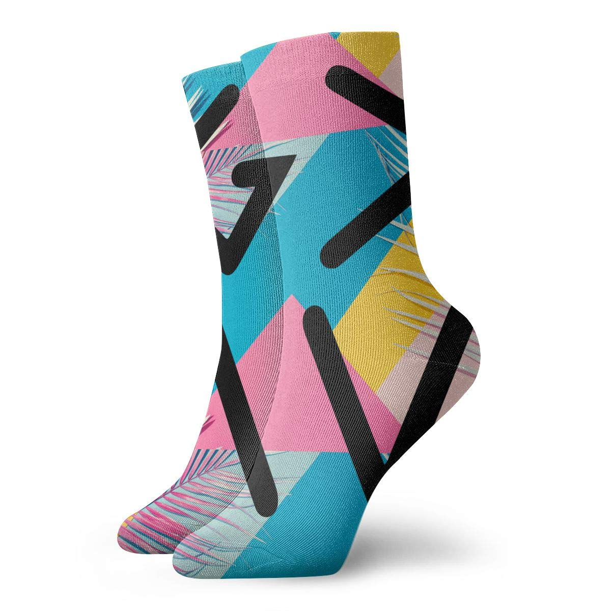 God Is Greater Than The Highs And Lows Fashion Dress Socks Short Socks Leisure Travel 11.8 Inch