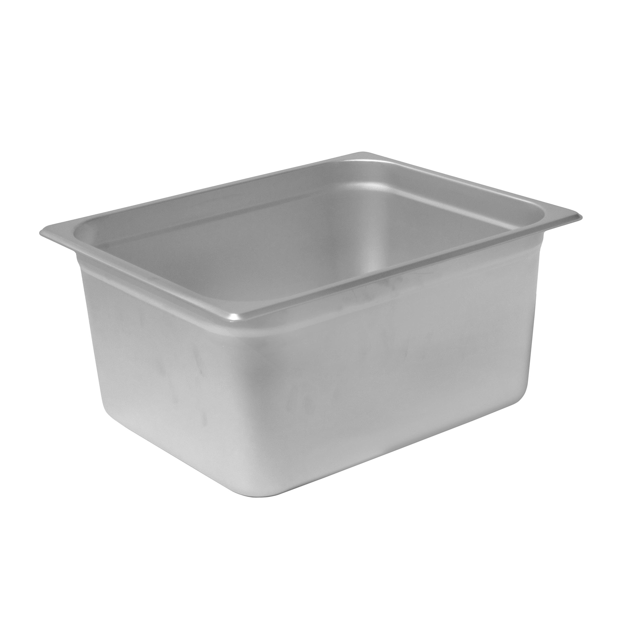 Chef's Supreme - 6'' Half Size Stainless Steam Table Pan by Chef's Supreme