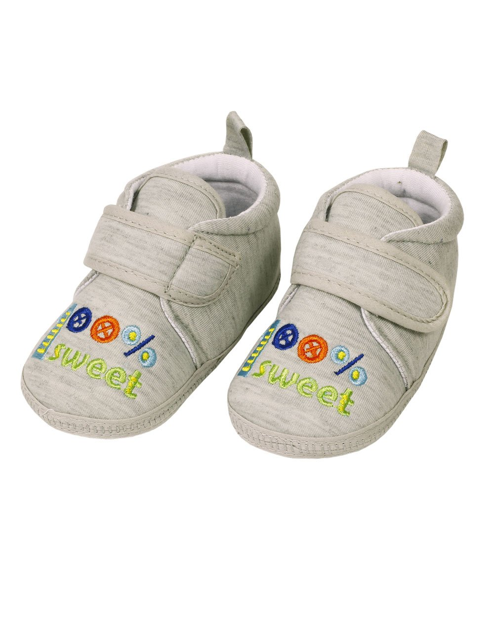Maximo 55203 717300 Babysommerschuhe mit ABS Sohle und