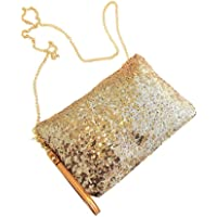 fengge mujeres bolso Sequined Envelope Party Evening bolso