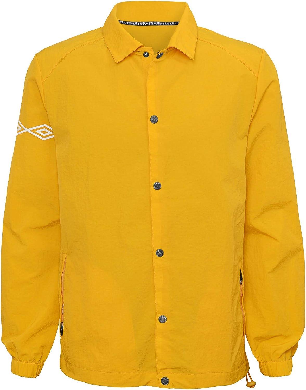 Umbro mens Packable Coaches Jacket