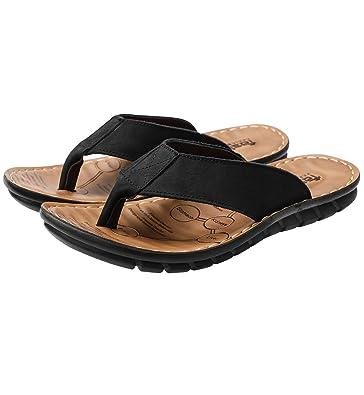 watch 96d95 f7310 Lecoon Zehentrenner Herren Sandalen Classic Flip Beach Schuhe