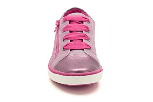 e449357ec70a Clarks Out Of School Zora Zippy Mulberry Pink Leather UK size 3 F   Amazon.co.uk  Shoes   Bags