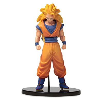 "Banpresto DBZ Dragon Ball Heroes DXF Vol. 1 with Card 6.5"" Super Saiyan 3 Son Goku Action Figure: Toys & Games"