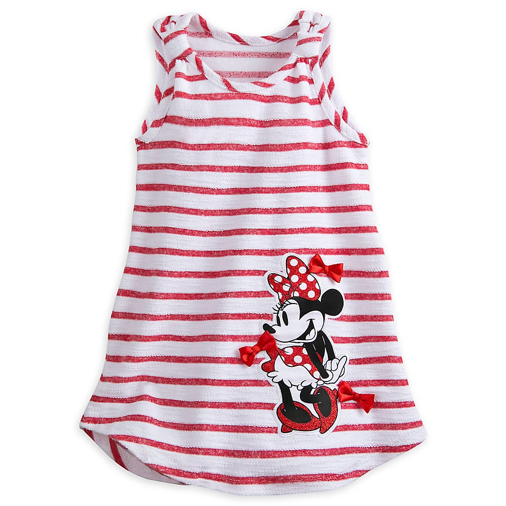 Disney Minnie Mouse Swim Cover Up for Girls White 5803040730366020