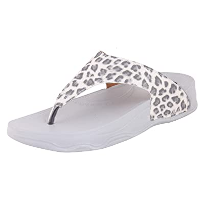 94a078e62c90 WELCOME Women s Leather Slippers  Buy Online at Low Prices in India -  Amazon.in