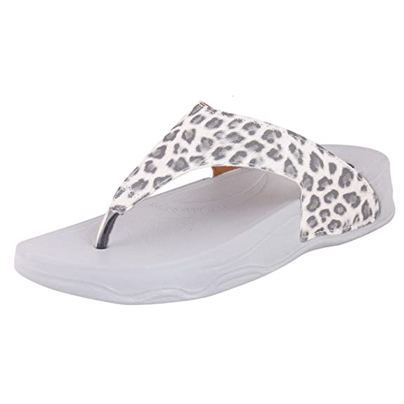 Welcome PURE Leather Women Slippers Flip-Flops & House Slippers at amazon
