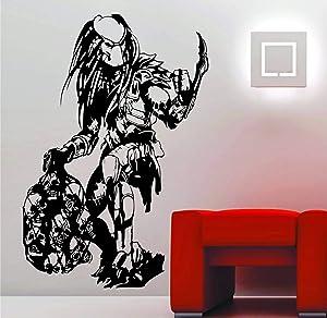 Wall Vinyl Decals Predator Skulls Movie Wall Art Stickers Decals Vinyl Aliens vs Predator AVP Made in USA