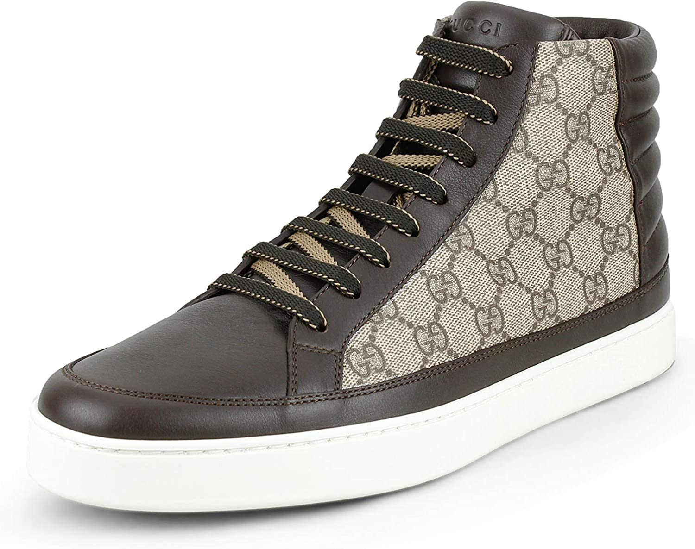 Gucci Men's GG Supreme High Top Sneaker