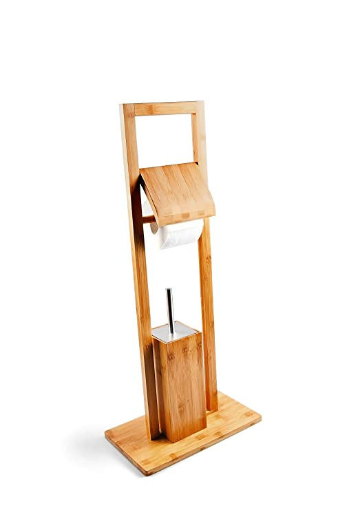 Toilettenpapierhalter Wc Klopapierhalter Holz Edelstahl