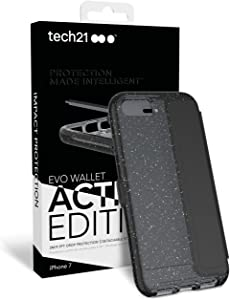 Tech21 Evo Wallet Active Edition iPhone 7 Plus, Black with White dots