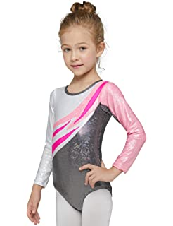 41979f19b7a3 Amazon.com  Girls Ombre Sparkle Sublimated Print Long Sleeve ...