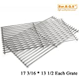 Bar.b.q.s 59812 Cooking Grid For Brinkmann, Grill Master, Nexgrill and Uniflame Gas Grill Replacement stainless steel Cooking Grid/Cooking Grates