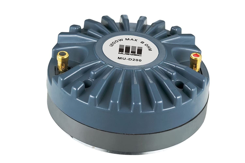 Pair (2pcs) 1200 Watts Titanium Compression Driver 2.0