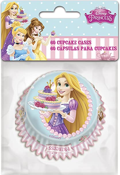 60 Cupcake Cases - Disney Princess  Amazon.co.uk  Kitchen   Home e92ad89ae6fc
