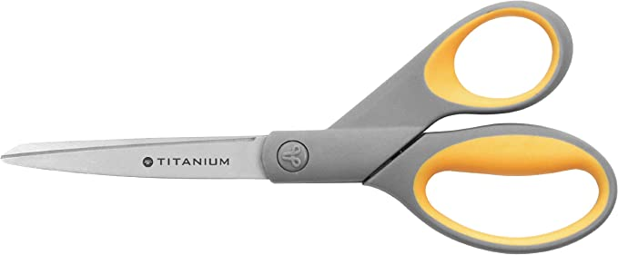 Westcott 8-inch Titanium Scissors - and other styles: Amazon.co.uk: Office Products