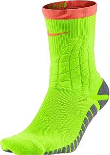 a2f1922df5c7 Nike Men s NK ELT HYPVMN Crew Socks - Black Green Glow