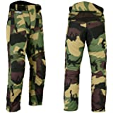 5ee4543fbb310 Hilbro New Mens Camo Motorbike Motorcycle Pants Armoured Waterproof Textile  Trousers
