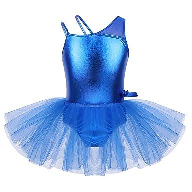 833bfabc2814 Amazon.com  iEFiEL Kids Girls  Sequined Camisole Ballet Tutu Dress ...
