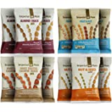 Imperial Nuts Grab & Go Nut Snack Packs (2.75 oz x 12 Packs) Perfect Blend of Fresh Tasty Nuts, Dried Fruits, Seeds & Sesame Chips