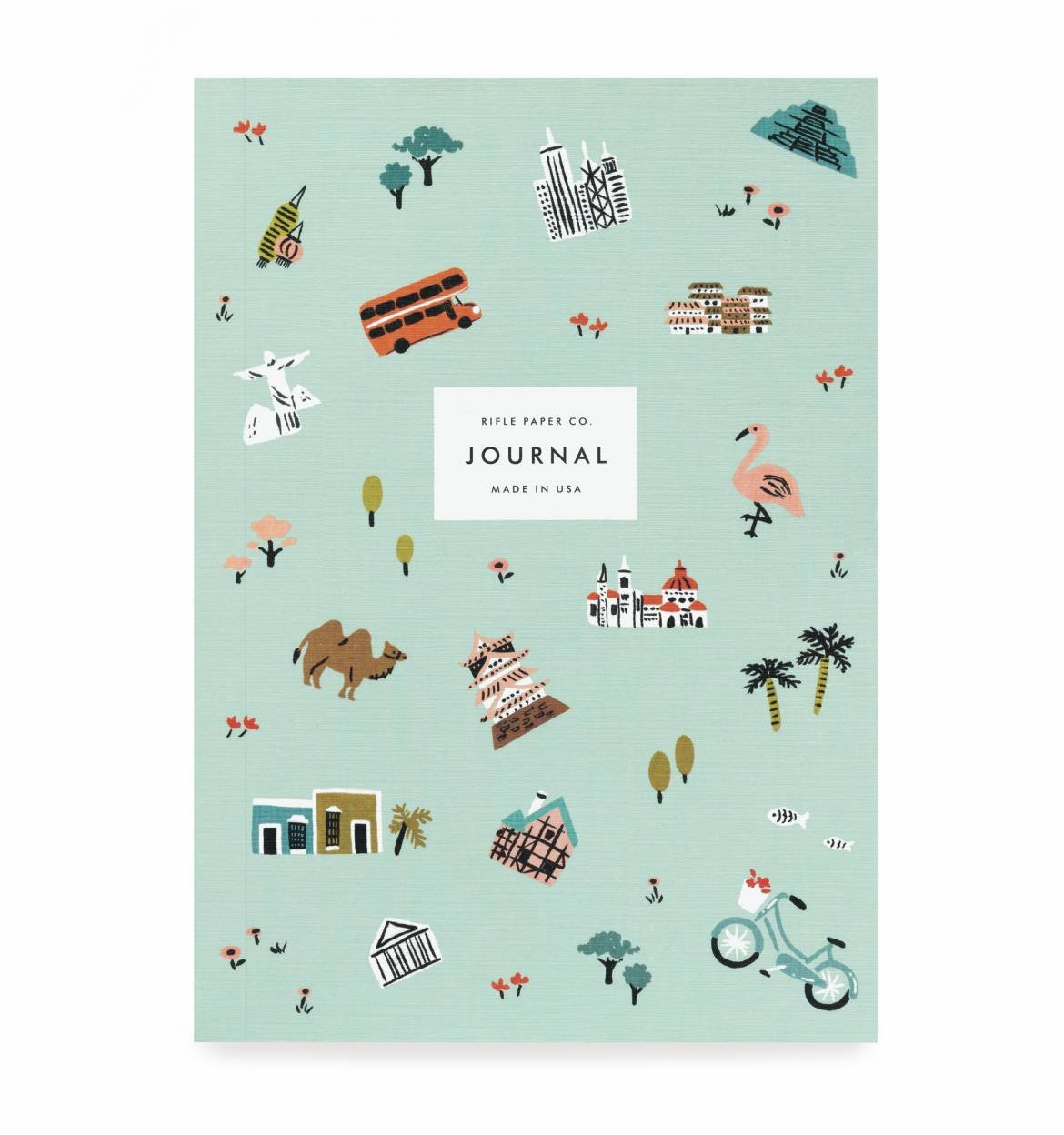 Rifle Paper Co. Wonderlust Travel Journal by Rifle Paper Co.