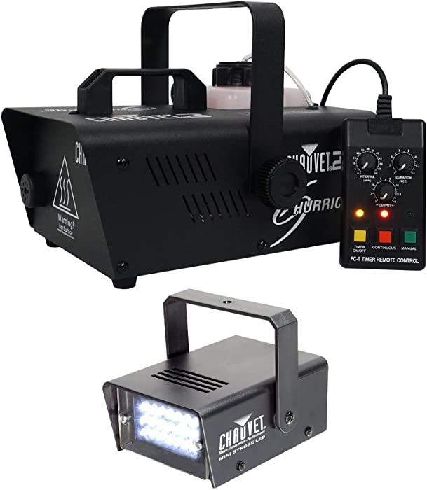 Top 10 Chauvet Dj Hurricane 1200 Compact Fog Machine