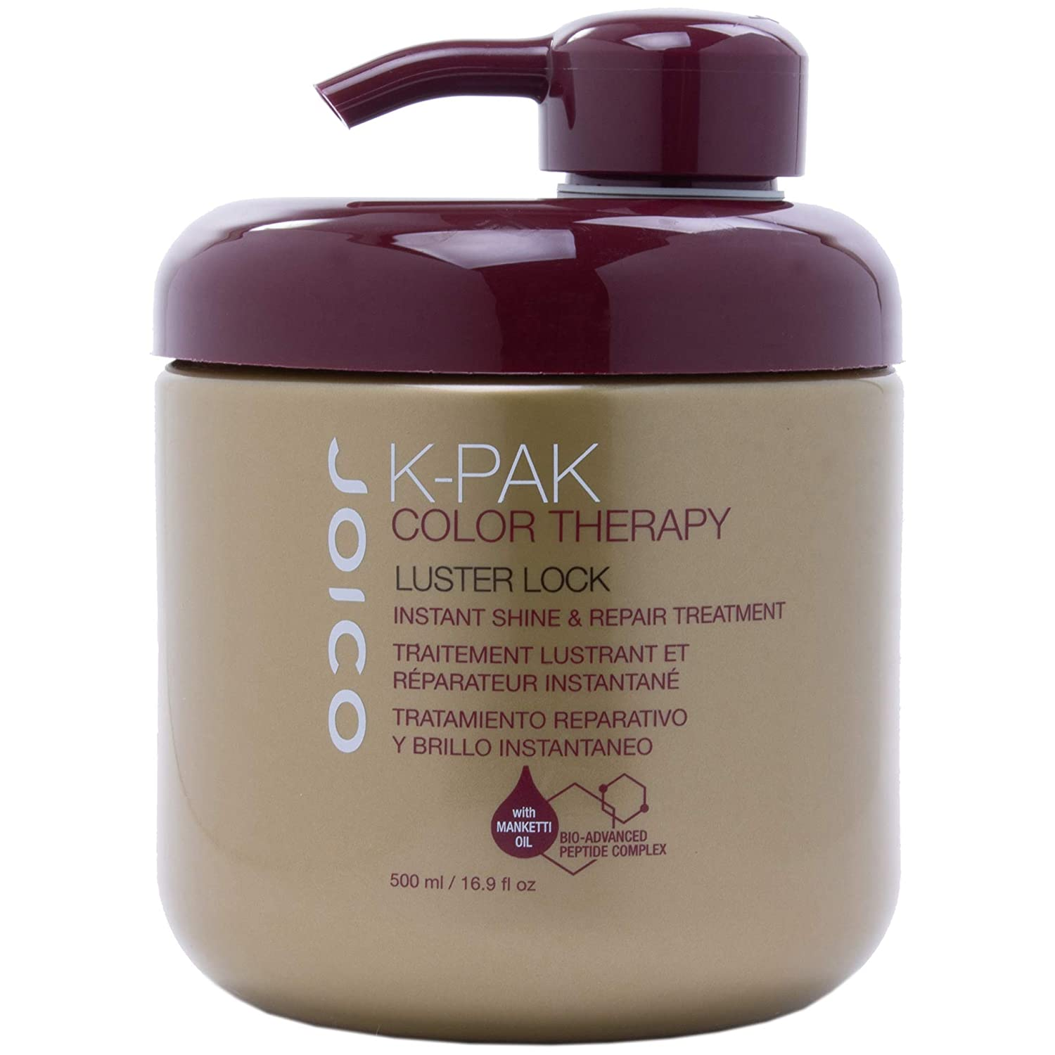 Joico K-Pak Color Therapy Luster Lock instant Shine & Repair Treatment 16.9 Fl Oz joi90-16-2-oz