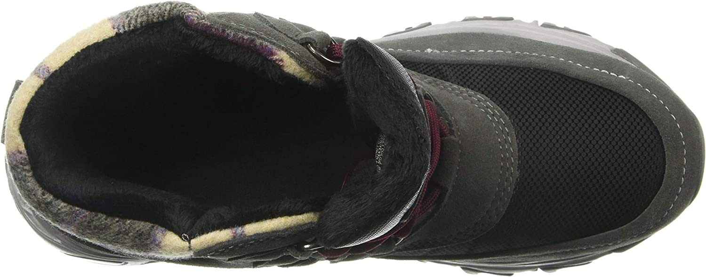 Skechers Frauen Stiefel Anthrazit