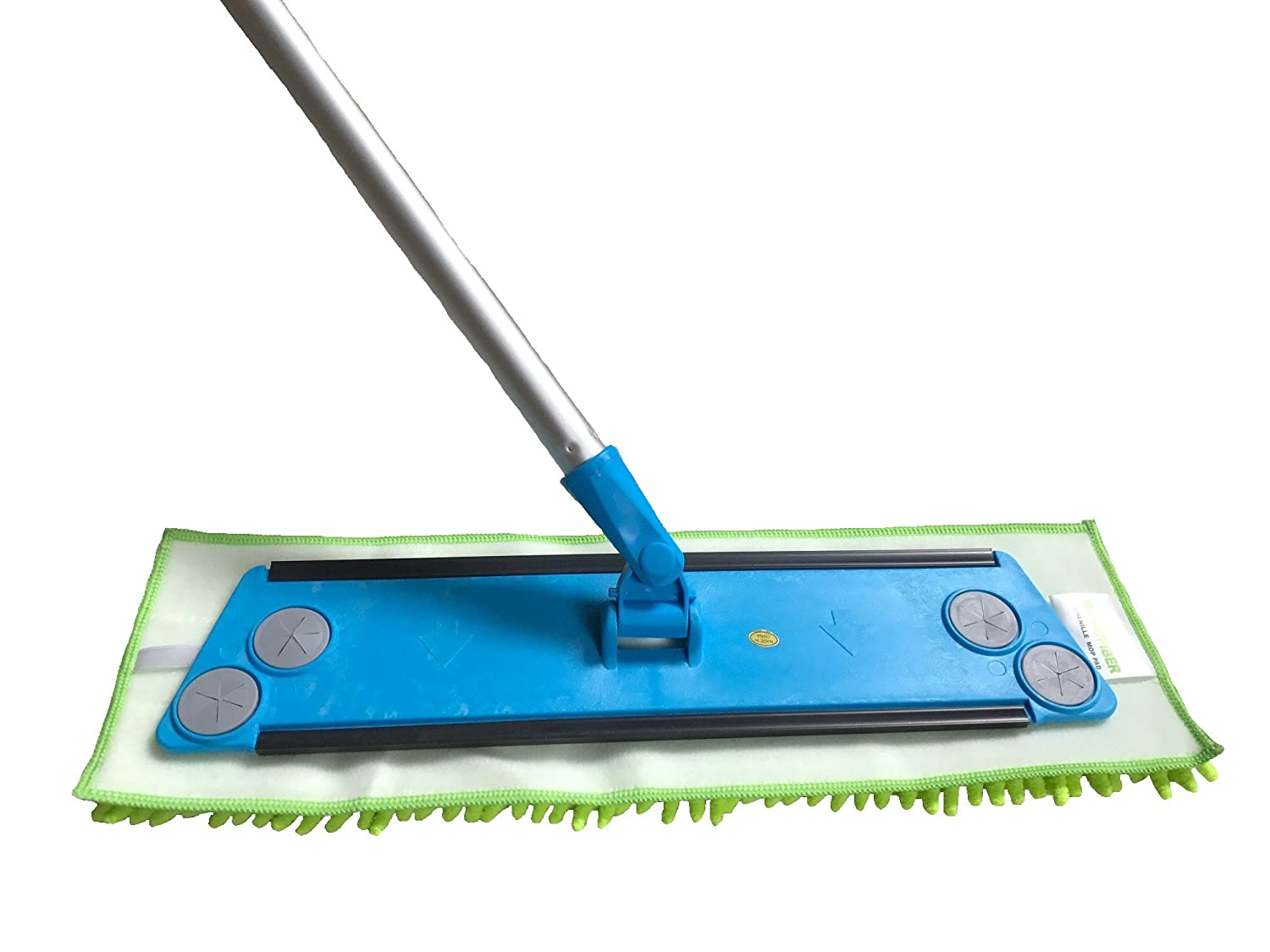 Premium 16 Inch Green Chenille Microfiber Wet//Dry Mop Pads for Household and Commercial Microfiber Mops 2