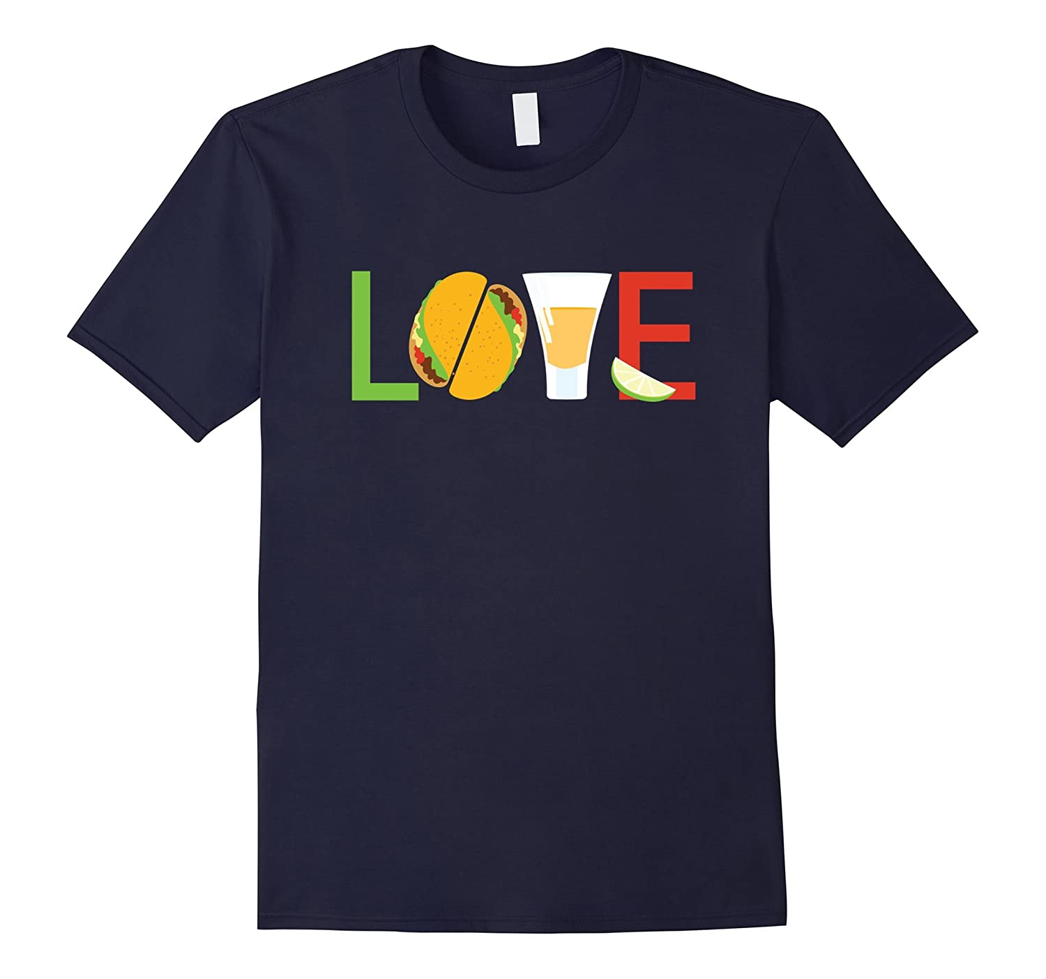 Cinco de Mayo Shirt I Love Tacos Tequila Taco Tuesday tshirt-TH