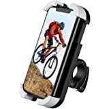 TIMESS New Bike Motorcycle Phone Mount Holder for Any Smartphone GPS Adjustable, Anti Shake and Stable 360° Rotation Bike Acc