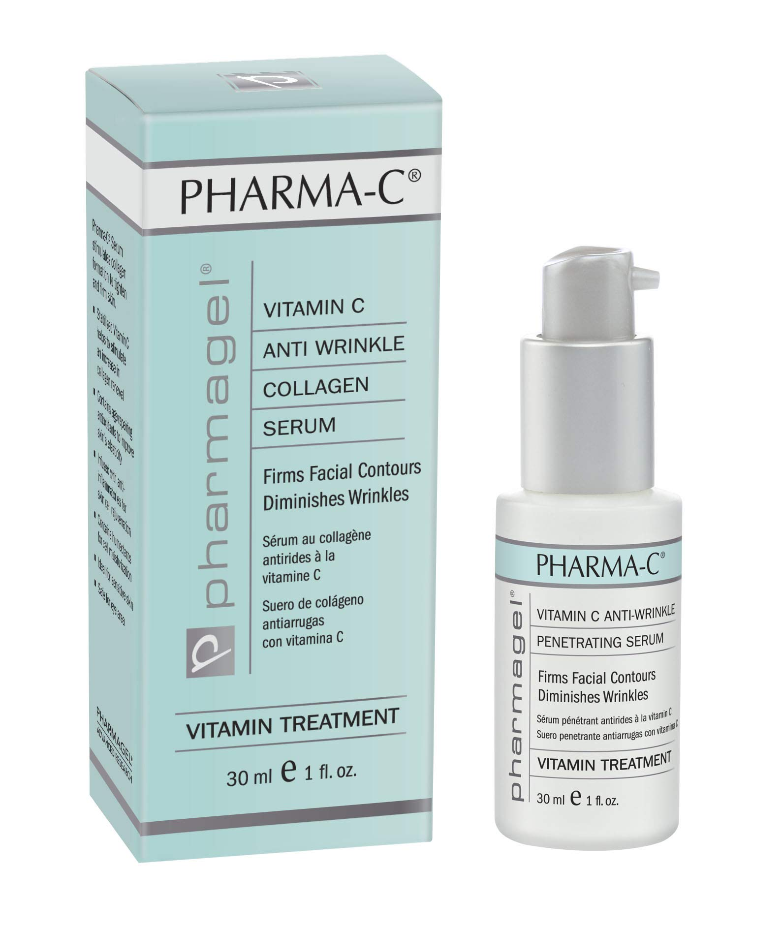 CDM product Pharmagel Pharma-C Vitamin Serum, 1 Fluid Ounce big image