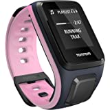TomTom Spark Music, GPS Fitness Watch + 3GB Music Storage (Small, Sky Captain/Pink)