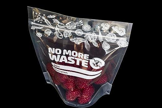 20 bolsas de almacenamiento de alimentos de 0,5 litros para ...