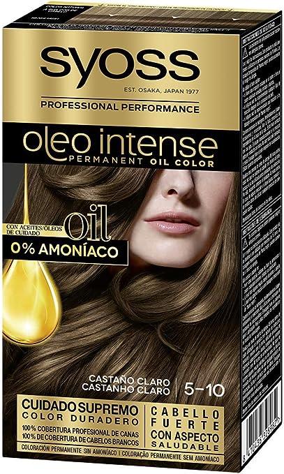 Syoss Oleo Intense - Tono 5-10 Castaño Claro – Coloración ...