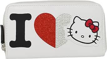 FAB Starpoint Big Girls' Hello I Love Kitty Zip Wallet
